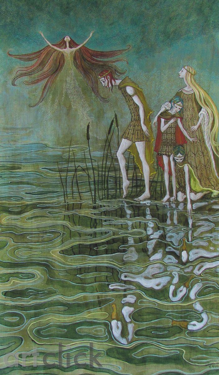 Faoi Dhraíocht by Ann McKenna on ArtClick.ie