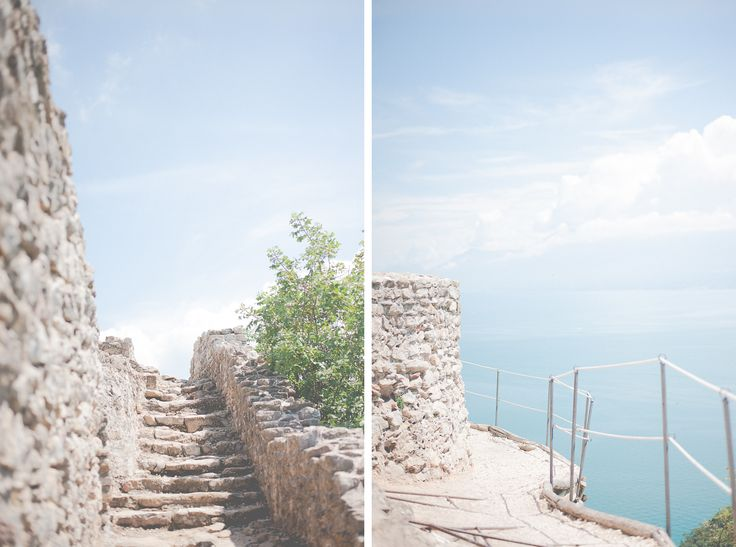 rocca di manerba. travel italy. lake garda.  by Anija Schlichenmaier