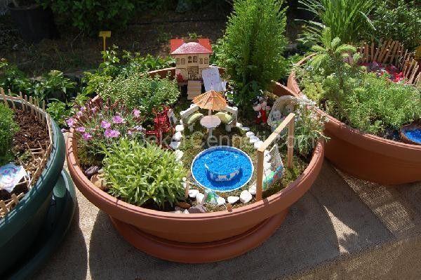 Yeni Moda minyatür bahçe sanatı Resimleri