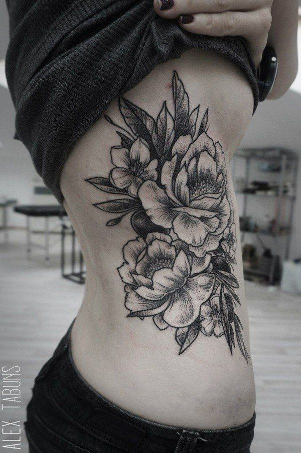 50 Peony Tattoo Designs And Meanings Too Cool Tattoos Pinterest