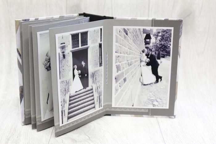 Mini album di nozze danipeuss Oktoberkit Melanie alta #dphochzeitswoche per scrapbooking www.danipeuss.de #hochzeit #heiraten #klartextstempel #minibook #minialbum #hochzeitsalbum