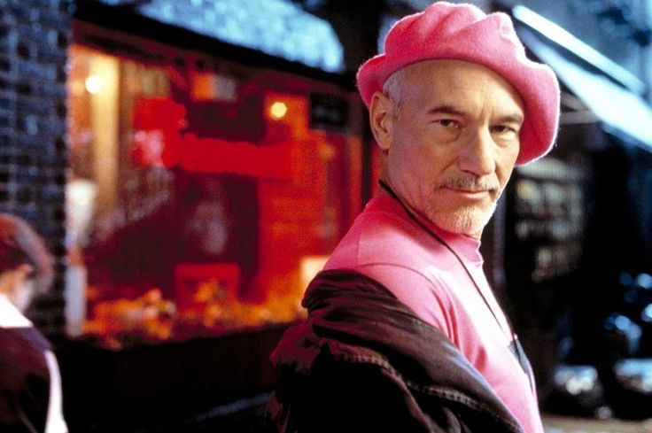Patrick Stewart, 1995 | Essential Gay Themed Films To Watch, Jeffrey http://gay-themed-films.com/films-to-watch-jeffrey/