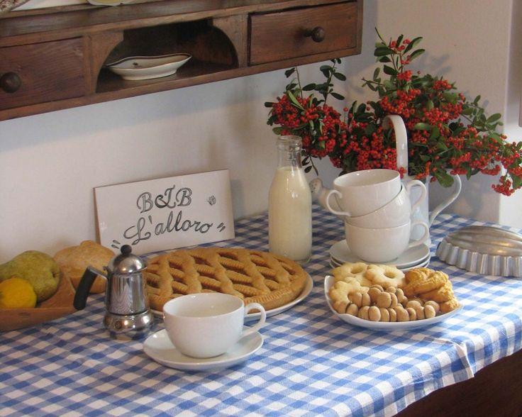 B&B L'alloro - Cremolino: breakfast