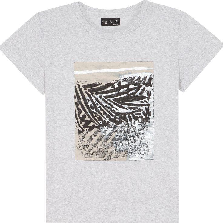 T-shirt Rafael Gray gris