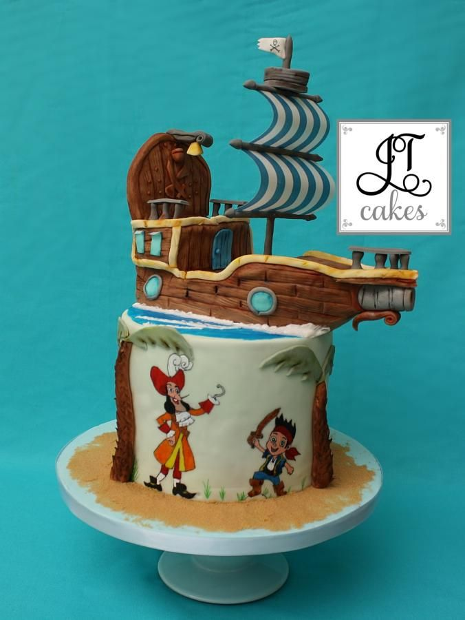 33 best Jake and the Neverland Pirates Cakes images on Pinterest