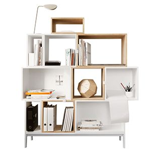 CASANOVA Møbler — Muuto - Stacked reolsystem (opstilling 8)