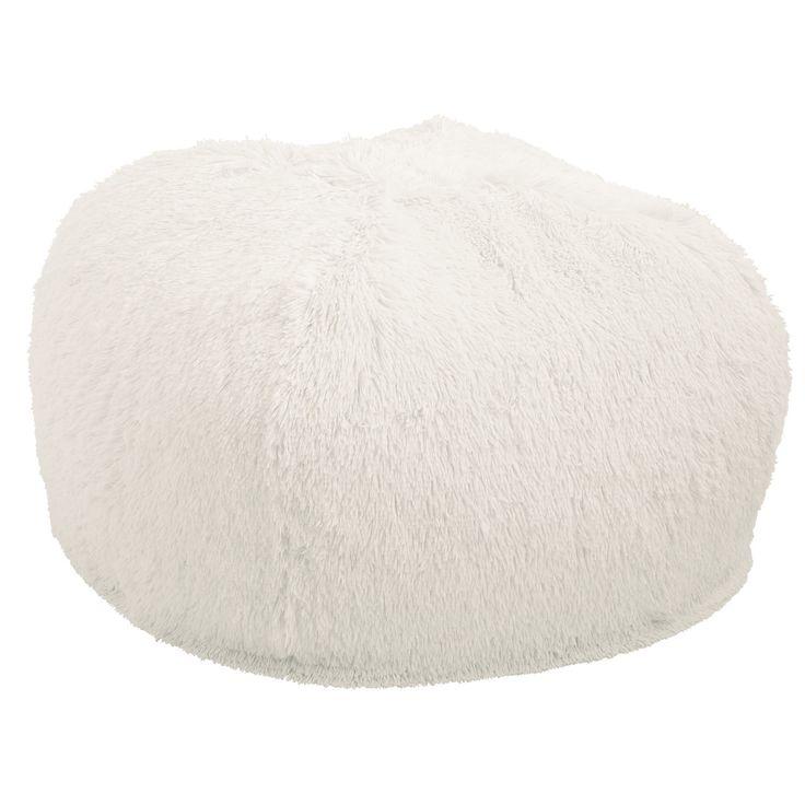 Shaggy Bean Bag - Sand