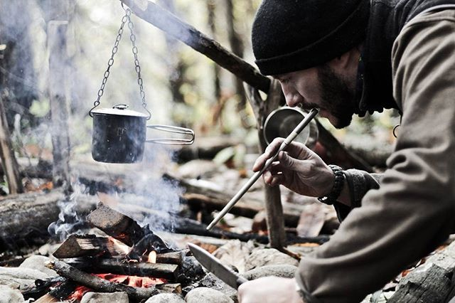 Whatever makes your heart beat, blow the embers and keep the fire alive  #bushcraft#outdoors#menofoutfoors#camping#wildcamping#wilderness#adventure#explore#exploremore#bushman#travel#nature#woodlands#backpacking#friluftsliv#yolo#mountains#hiking#instali