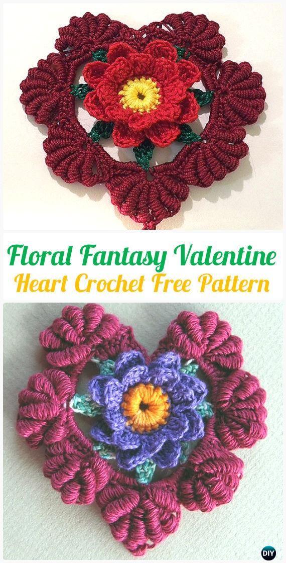Increíble Flor De Lis Patrón De Crochet Libre Colección de Imágenes ...