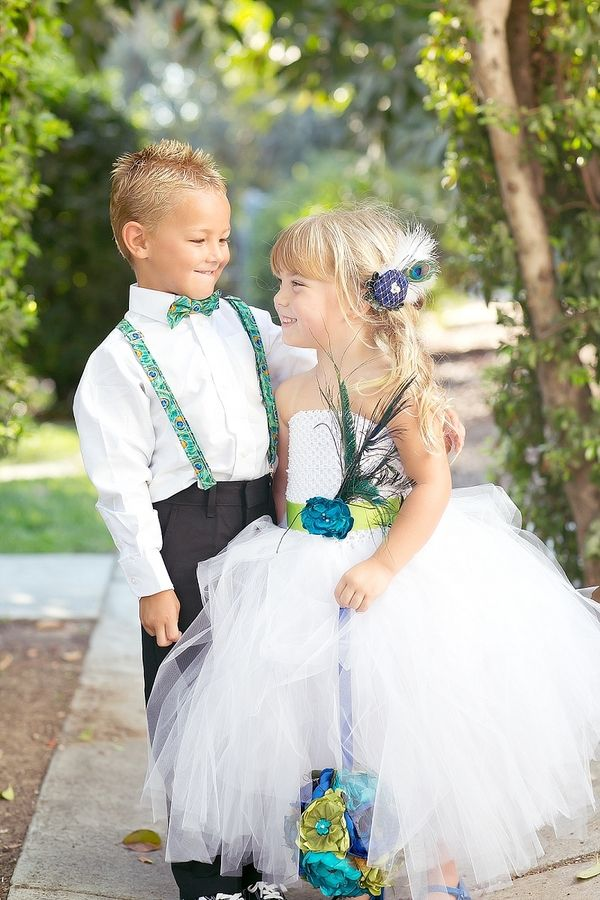 OMG THIS IS ADORABLE!!  Peacock themed wedding     meghan wiesman photography