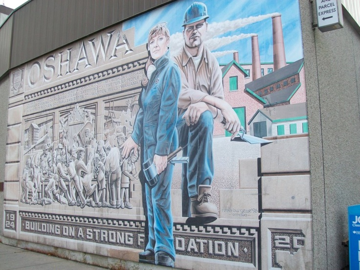 Auto Workers Mural