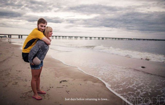 I've posted this couple's story before, but it is timelessly touching.