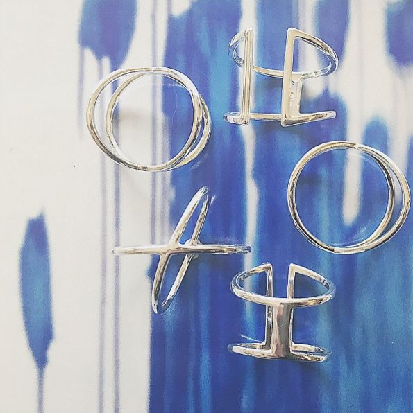 Cage Ring | V Ring  www.gmssilver.com
