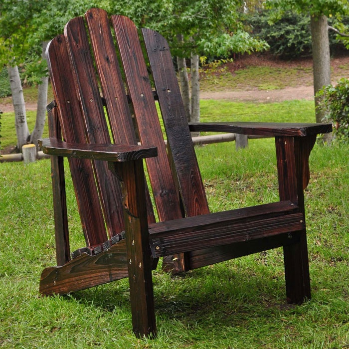 Marina Adirondack Chair in Burnt Brown: Adirondack Chairs, Ideas, Shine Company, Brown Marina, Outdoor, Burnt Brown, Patio, Marina Adirondack
