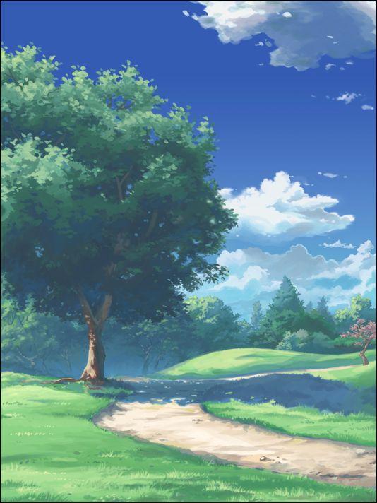 Park by Kyomu on DeviantArt