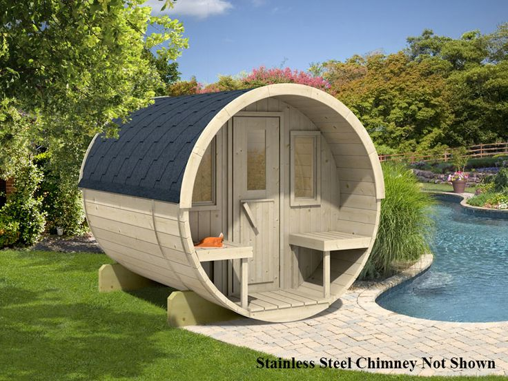 Prefab Wooden Sauna Kit For Sale From bzbcabinsandoutdoors.net Solid wood cabin kits for, hunting, fishing,camping, guesthouse or garden cabin.