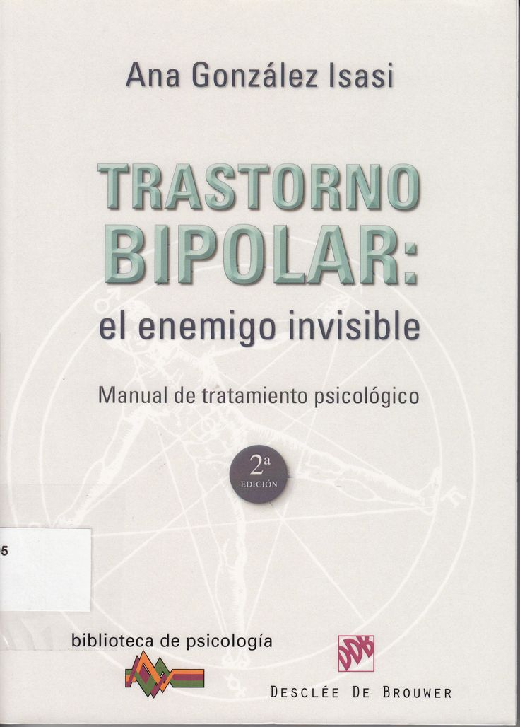 616.895 / G643 / Trastorno bipolar  el enemigo invisible ( Ana González Isasi