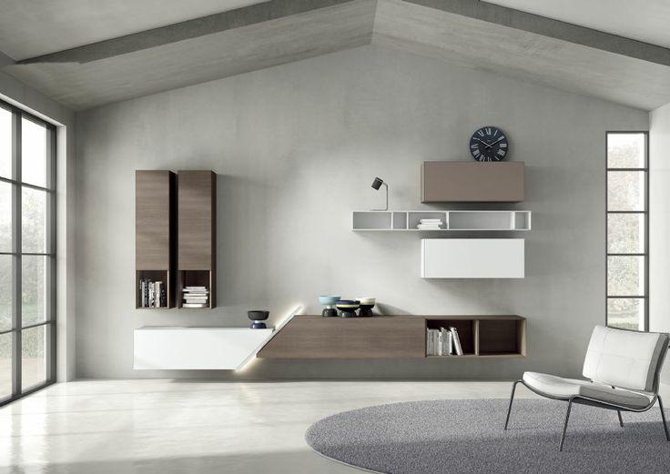 Ambihome santarossa meuble a composer salons for Meuble salon a composer