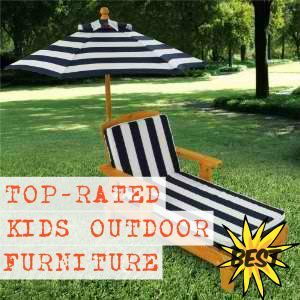 12 best kids outdoor furniture images on pinterest kids for Best rated patio furniture