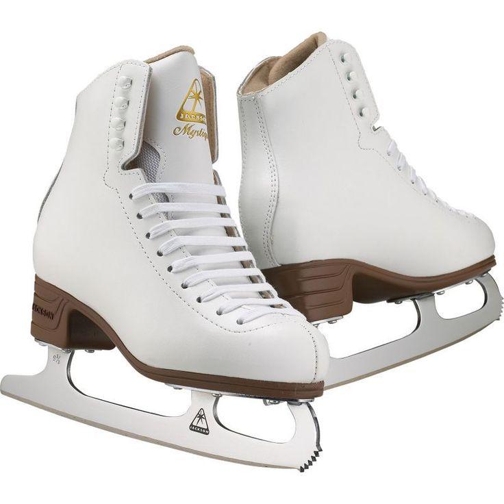Jackson Ultima Toddler Mystique Figure Skates, White
