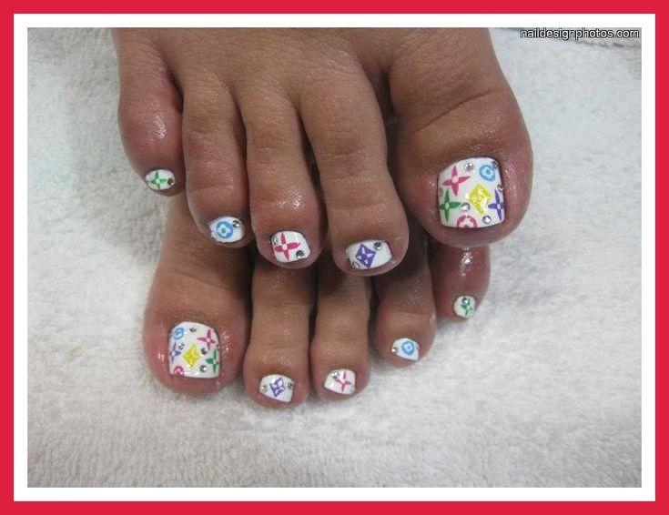 79 best fingertoenail design images on pinterest nail designs toenail art designs simple cute simple toenail designs prinsesfo Images