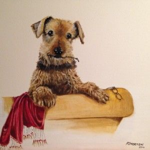 'Naughty Arthur 2' by Pam Morton