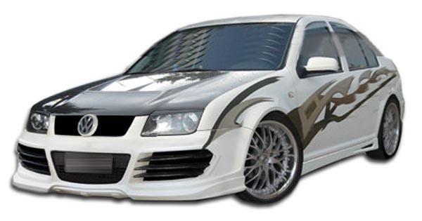 1999-2004 Volkswagen Jetta Duraflex R8 Look Front Bumper Cover - 1 Piece