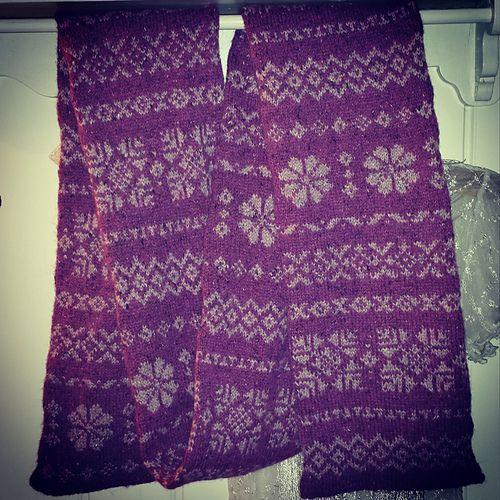 AnneLiseL's Oak scarf