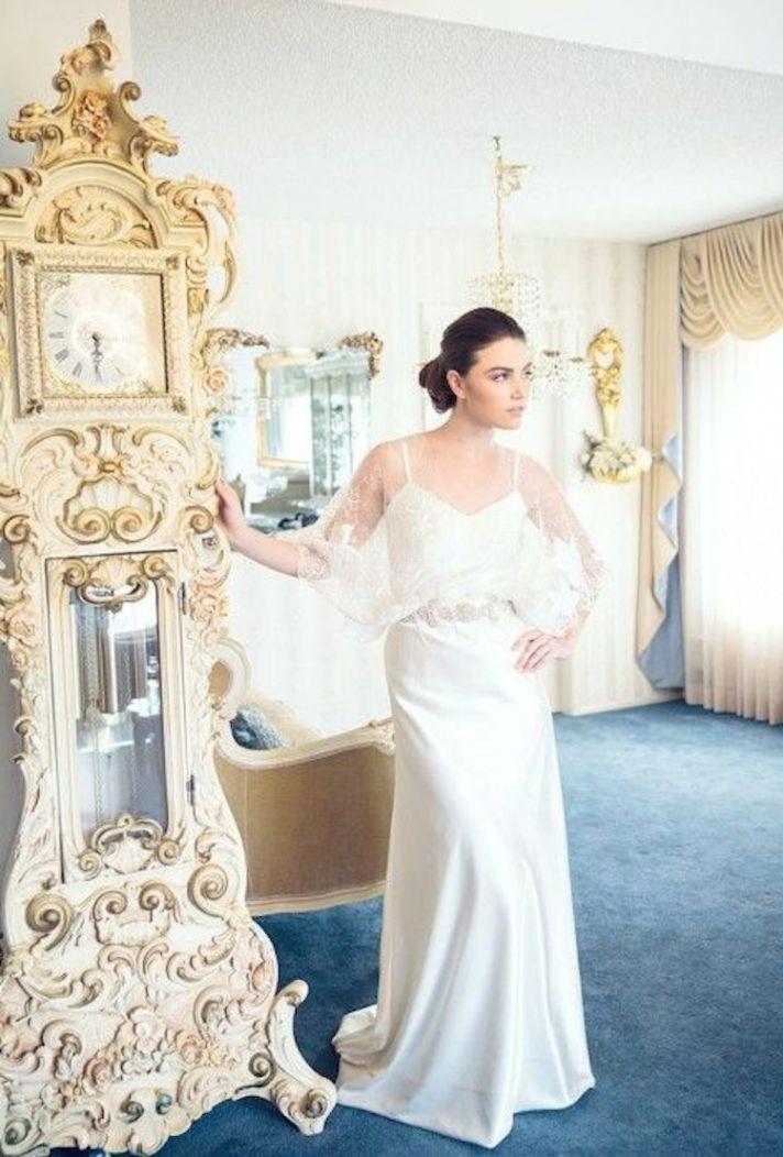 Juliana Lace Wedding Dress By Marisol Aparicio