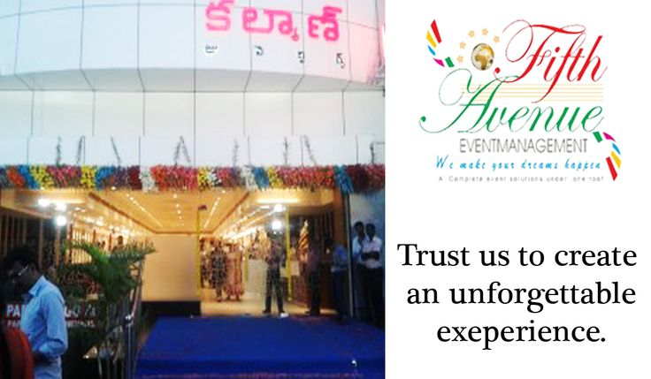 "Fifth Avenue Event Management Limited is privileged to provide complete event planning services for the inauguration ceremony of kalyan Jewelers with Honorable chief Guest none other than ""The King – NAGARJUNA!"". For More Details Visits: http://www.5thavenueeventmanagement.com"