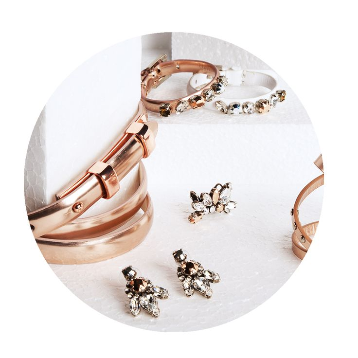 #veronikamaine #rosegold #jewellery