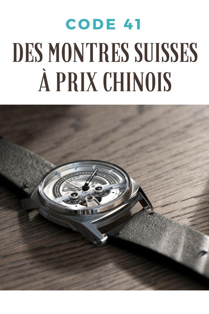 offre spéciale comment commander très convoité gamme de Code41, des montres suisses à prix chinois | Montres ...