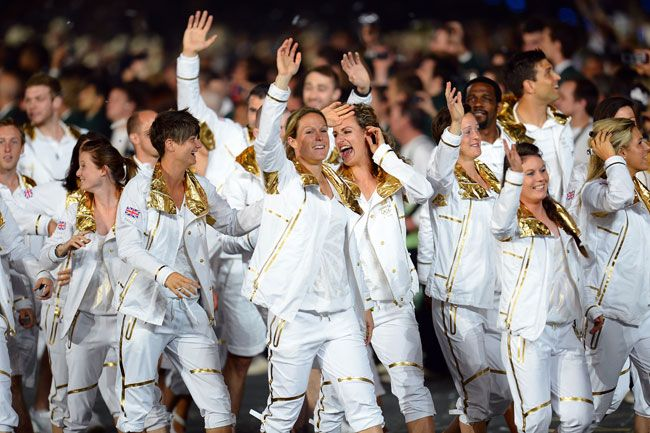 Great Britain's 2012 Opening Ceremony Uniforms