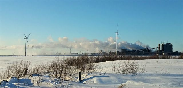 LENS and COVER: Factory and Windmills