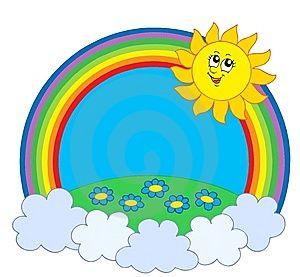 радуга и солнце - Google Търсене