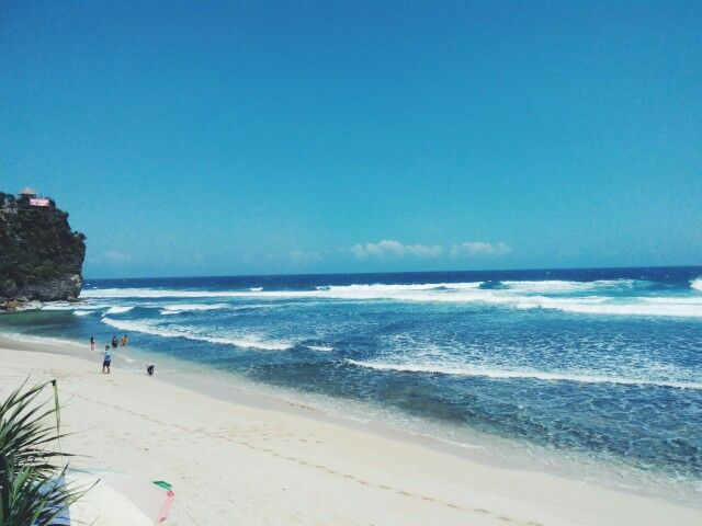 Awesome beach! i've been twice here. Pok Tunggal Beach, Gunung Kidul, Yogyakarta, Indonesia