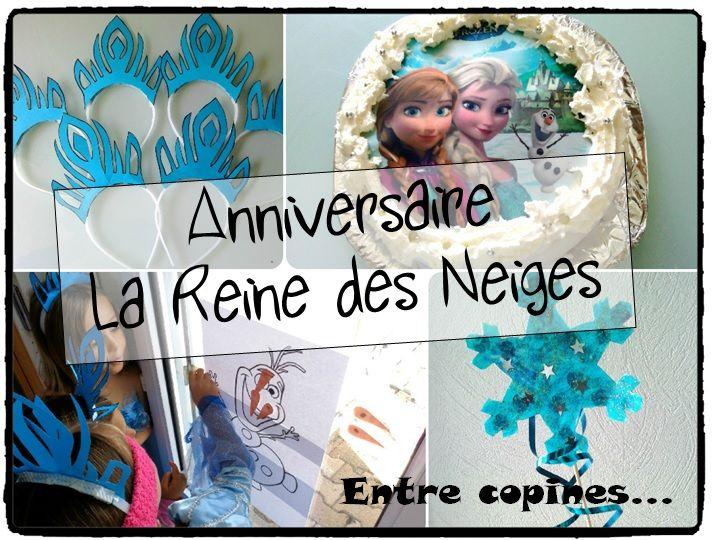 Anniversaire Reine Des Neiges Birthday Frozen Frozen Party Gateau Anniversaire Reine Des