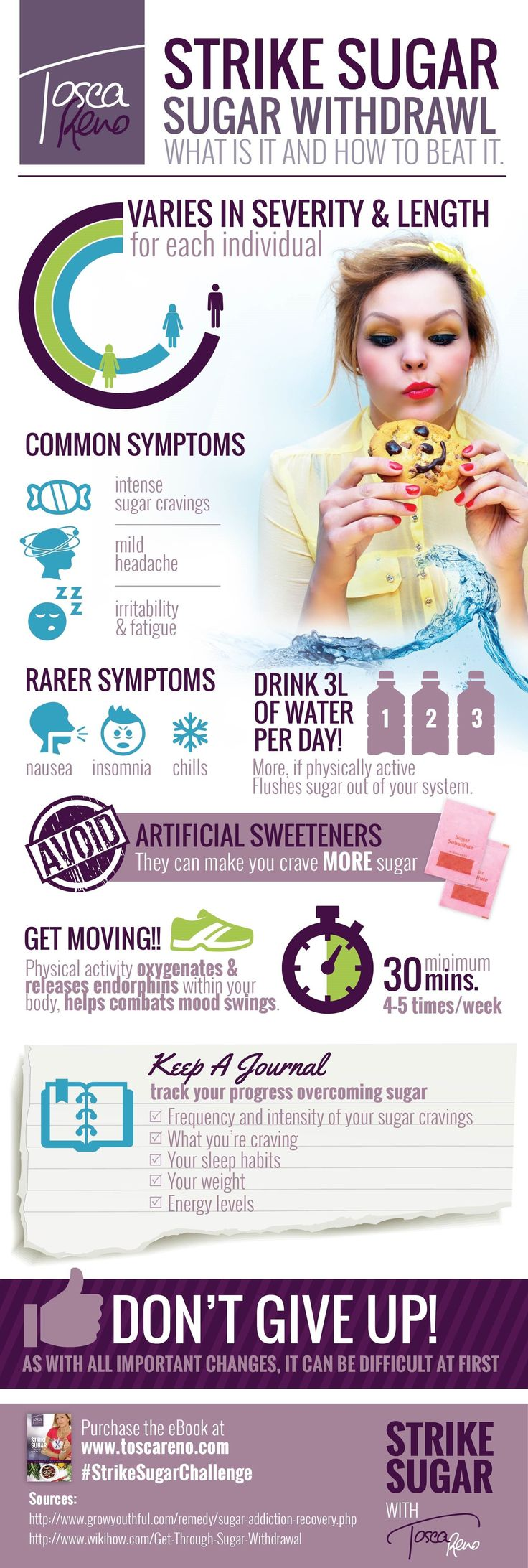 balanced blood sugar levels help cut those insatiable sugar cravings. A healthy gut also helps! #BodyDetoxForMen