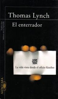 el ojo en la paja: El enterrador, de Thomas Lynch