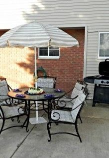Patio Set Makeover With Krylon Rust Protector Spray Paint   Mad In Crafts