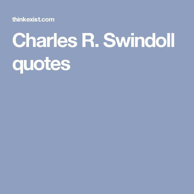 Charles R. Swindoll quotes