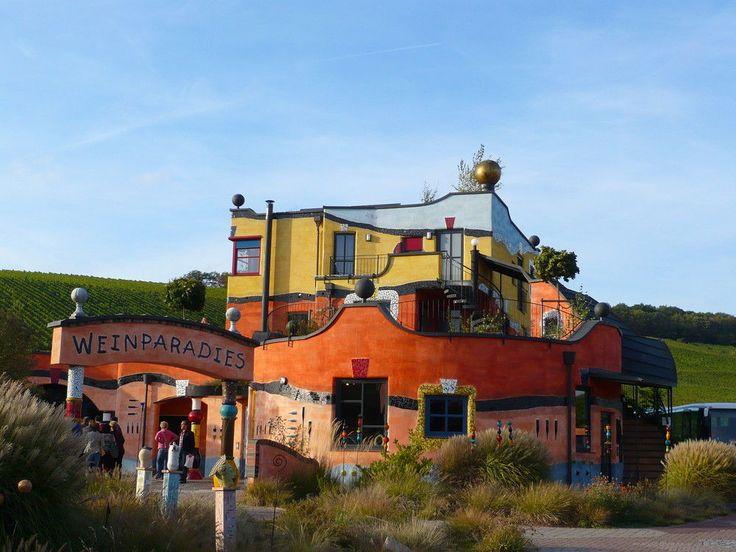79 besten hundertwasser bilder auf pinterest arquitetura for Hundertwasser architektur