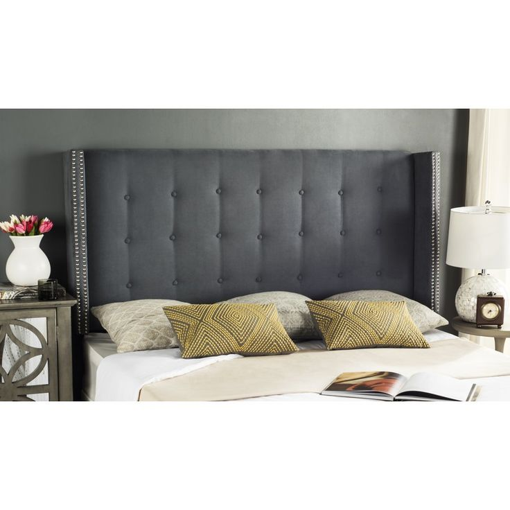 Bedroom Color Ideas With Dark Furniture Bedroom Decorating Ideas With Tufted Headboard Zen Master Bedroom Ideas Bedroom Color Ideas Gray: Best 25+ Wingback Headboard Ideas On Pinterest