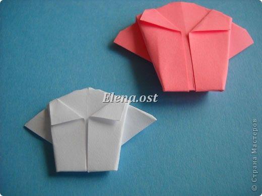 Платья оригами к 8 марта