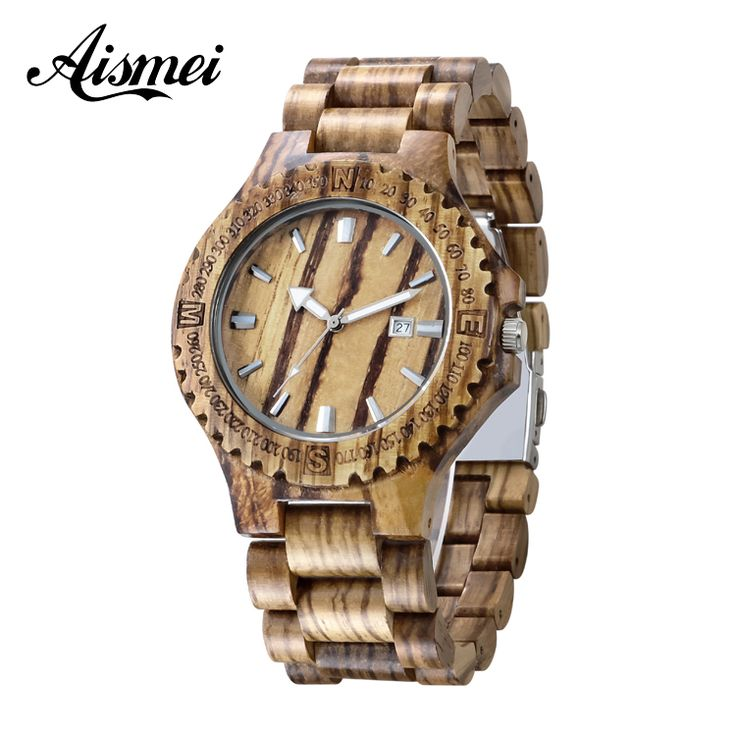 Aliexpress.com : Buy 2016 New Aismei Vintage Man Wooden Gift Watch Bangle Quartz Watch With Calendar Display Role Men Relogio Masculino Watches from Reliable watch champion suppliers on Topsell Fashion Trading CO.,LTD