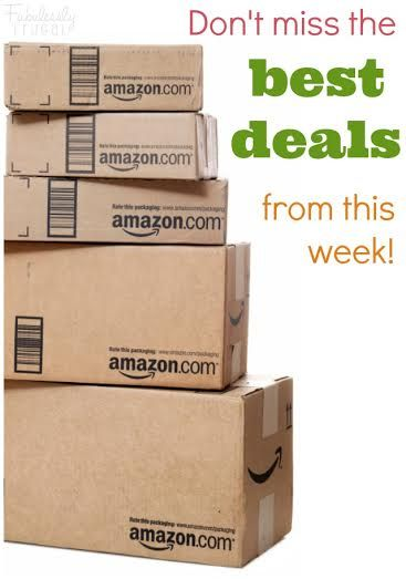 We LOVE to see what you love! Here are this weeks Best of Amazon Deals including Wahl Clipper Kit, Crayola, Cupcake Liners & More!