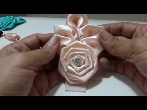 Flor com folhas - YouTube