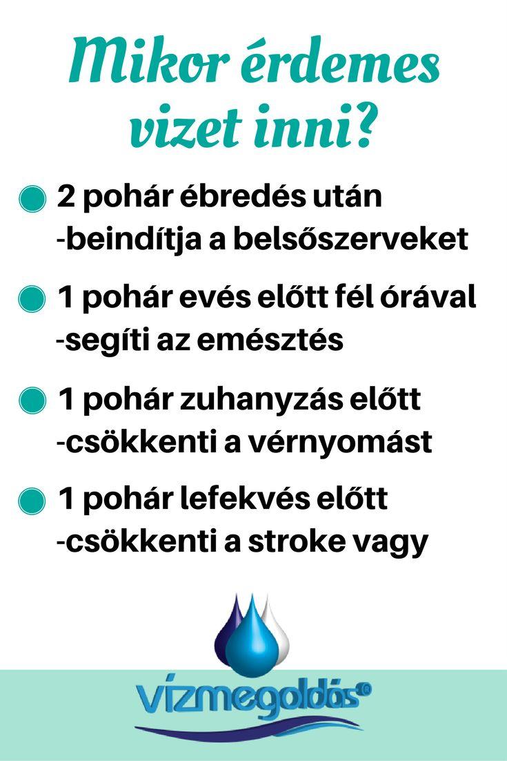 Egészséges életmód - mikor érdemes vizet inni?