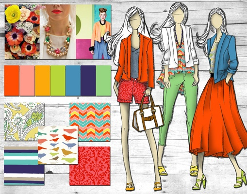 Fashion Design Portfolio Layout for Fashion Design