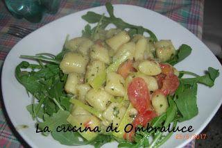 La cucina di Ombraluce: Gnocchi al pesto primaverili